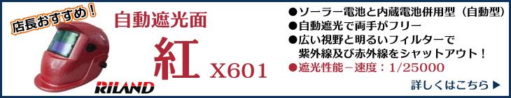 RILAND 紅 X601